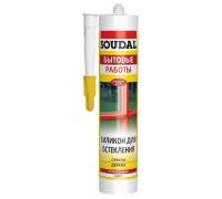 Герметик силиконовый для остекления Soudal 125773
