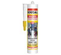 Герметик силиконовый высокотемпературный Soudal GASKET SEAL 104240