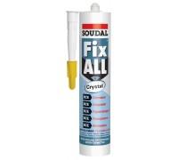 Гибридный клей-герметик Soudal Fix All Crystal 119130