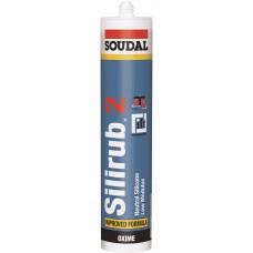 Герметик силиконовый нейтральный Soudal Silirub 2 102422
