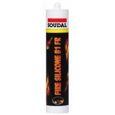 Герметик силиконовый огнестойкий Soudal Fire Silicone B1 FR 108998