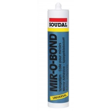 Герметик силиконовый нейтральный для зеркал Soudal MIR-O-BOND 103146
